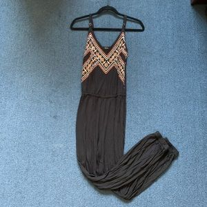 Forever 21 Sequin-Detailed Jumpsuit